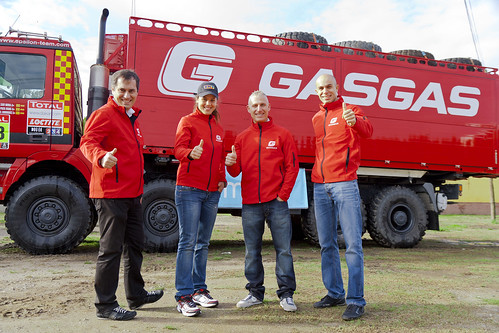 Team Gas Gas Dakar 2012
