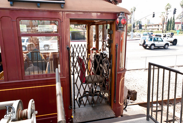 Pacific Electric Railway / Red Car Trolley - Car Entry