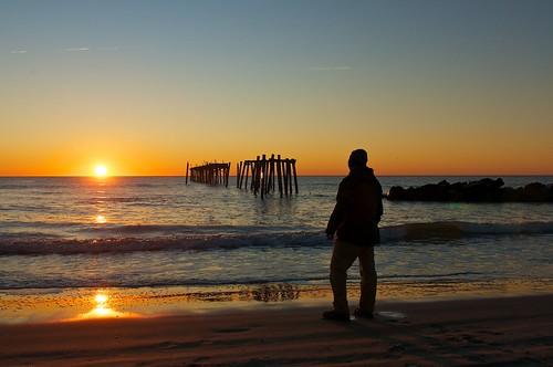 ocean beach sunrise newjersey nj oceancitynj oceancity oc jerseyshore 59thstreet d300 2470mmf28g 59thstreetpier johnhark johnfhark