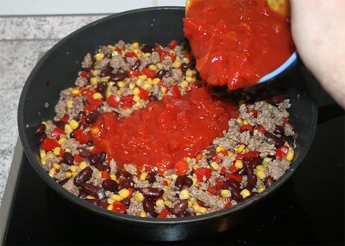 27 - Tomatenstücke unterheben