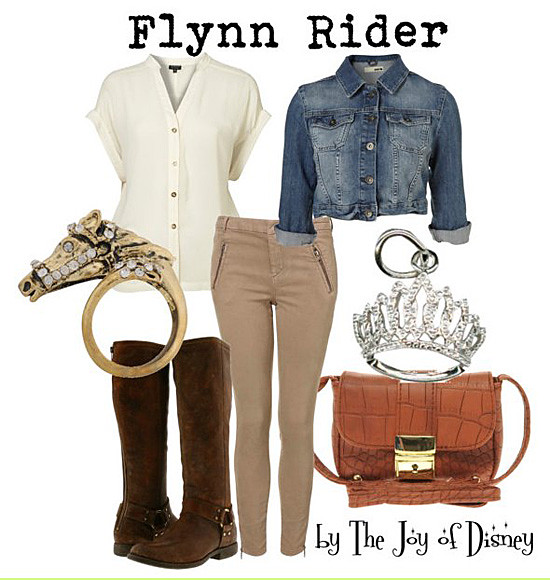 Inspired by: Flynn Rider -- Tangled