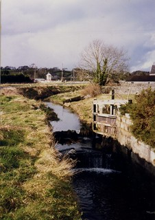 Derelict lock gates, the Newry Canal at Poyntzpass, Northern Ireland.
