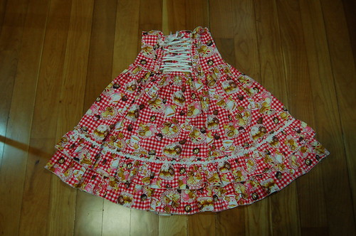 Lolita Closet Count! Skirts: Red - Bodyline Red Gingham Desserts