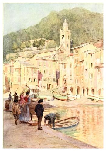 001-Portofino-An artist in the Riviera (1915)-Walter Tyndale