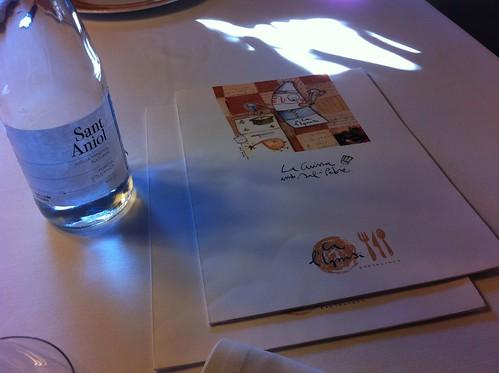 Cantonigròs | Ca l'Ignasi | Agua Sant Aniol y carta