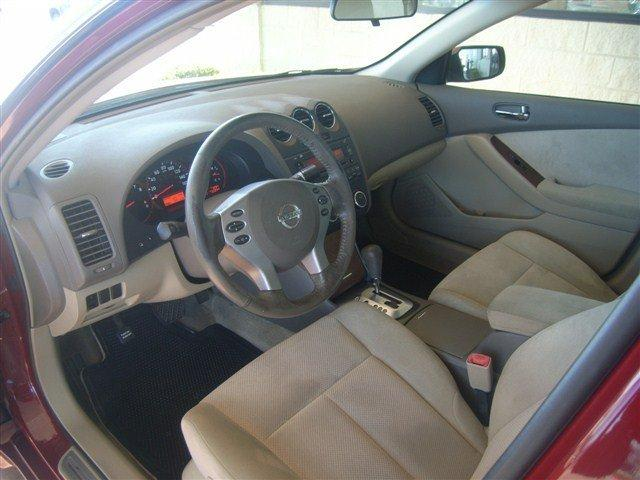 2008 nissan altima interior front san antonio texas. Black Bedroom Furniture Sets. Home Design Ideas