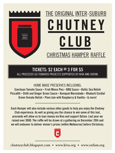 chutney club 2011
