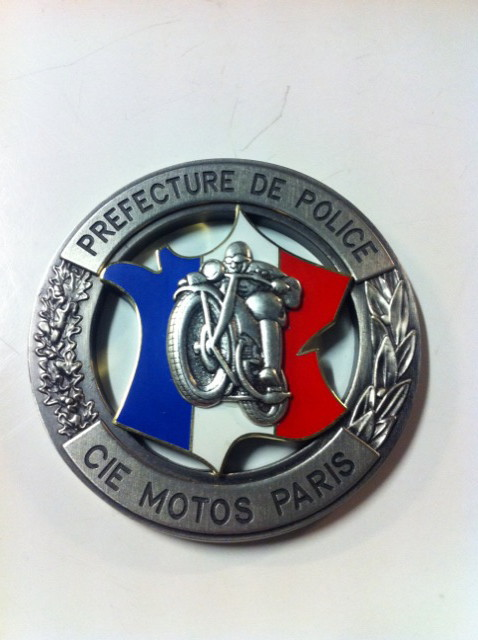 Compagnie Motos Paris - Préfecture Police