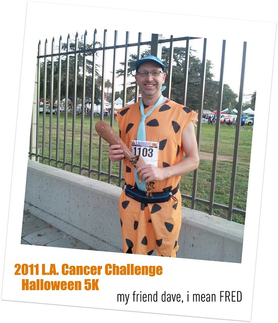 My friend Dave, I mean Fred - 2011 L.A. Cancer Challenge - Halloween 5K