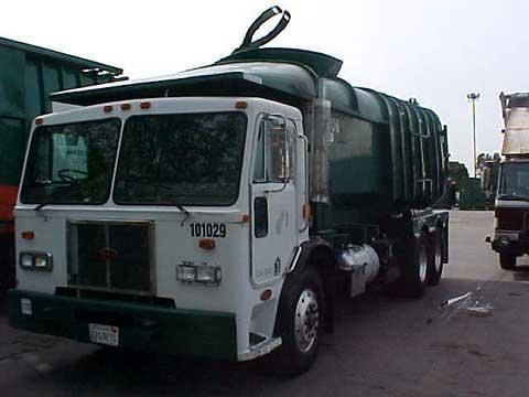 WM Waste Management Stagg FL/ASL conversion Peterbilt 320 | Flickr