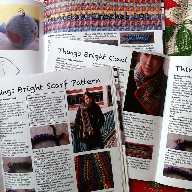 Things Bright in CraftSanity Magazine