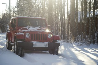 Winter Jeep
