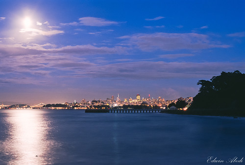 Moonlight and the Bay [Explored]