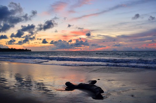 Sunset at Anyer