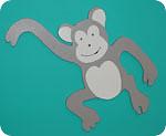 Cheeky Pipkins Nurseries Monkey