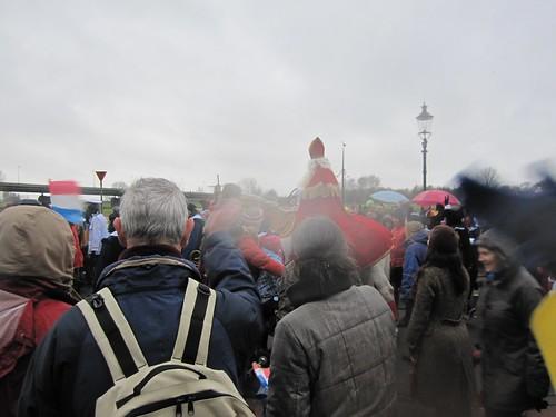 Sinterklaas in the rain