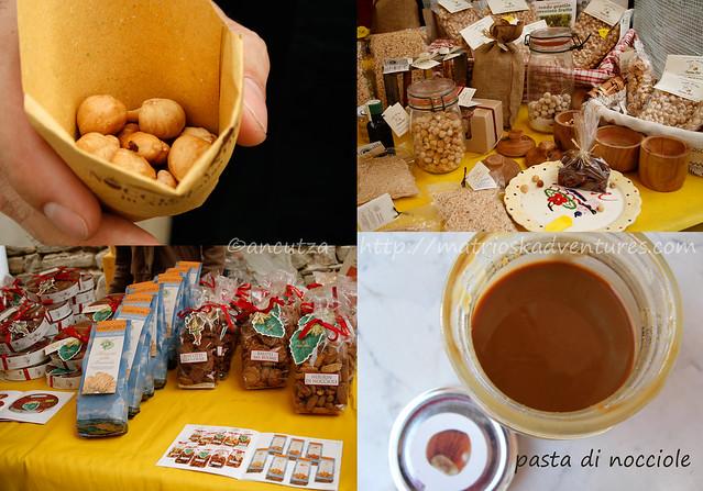 foto prodotti a base di nocciole igp Piemonte Italia