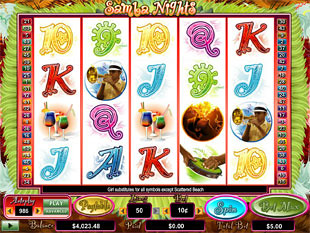 Samba Nights slot game online review