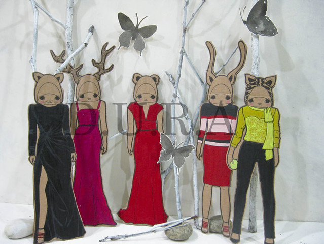 Fashion-na-nimal Darlings Paperdolls