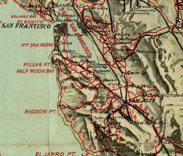 Bike Map of Bay Area