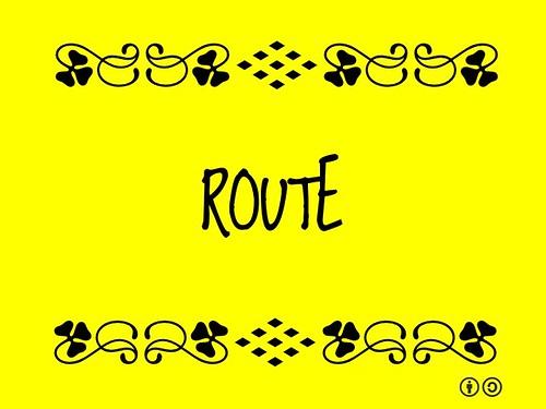 Buzzword Bingo: Route (2011)