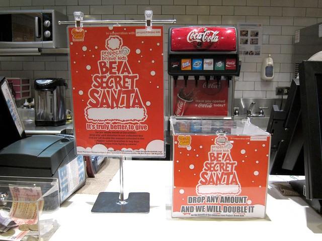 Secret Santa at Pepper Lunch