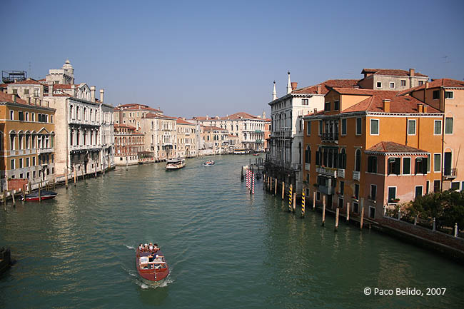 Vista desde el Puente dell'Accademia. © Paco Bellido, 2007