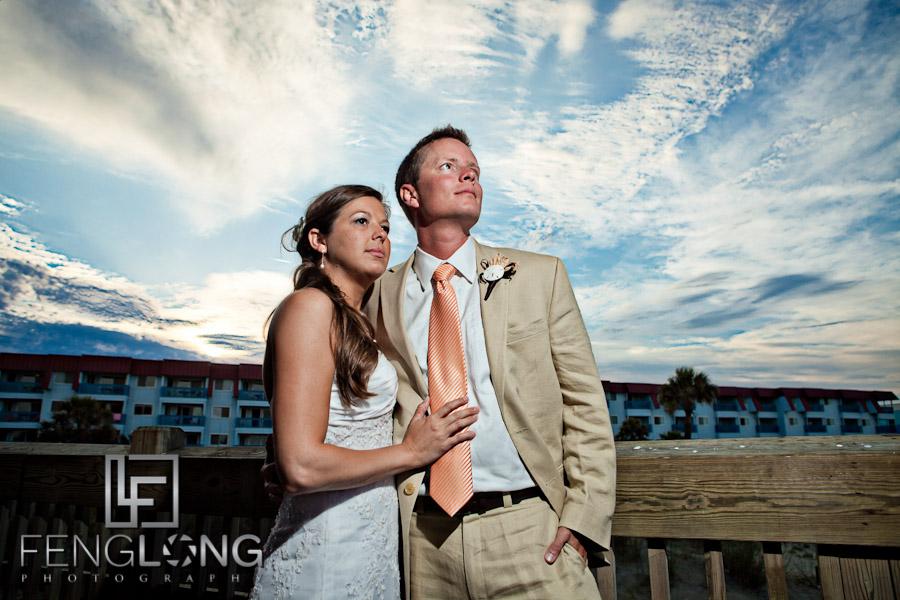 KyAnne & Brett's Wedding | Tybee Island Pier | Tybee Island Wedding Photographer
