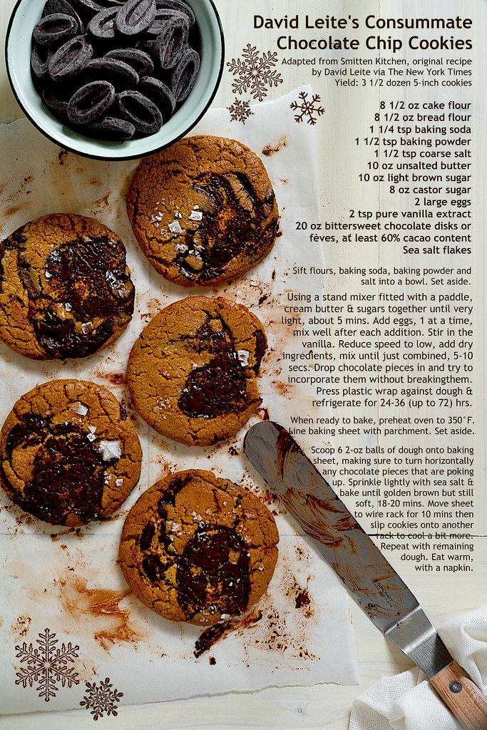 david leite new york times consummate chocolate chip cookies
