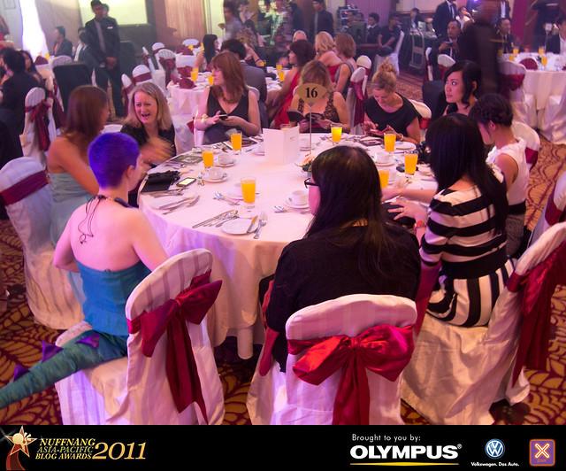 Napbas 2011 gala dinner