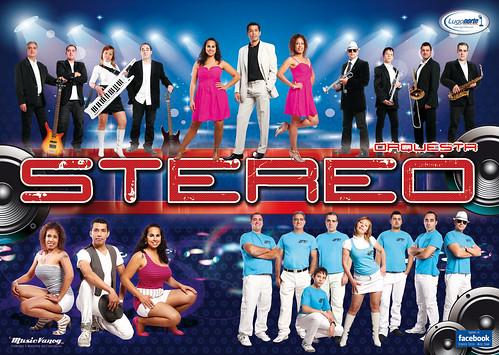 Stereo 2012 - orquesta - cartel