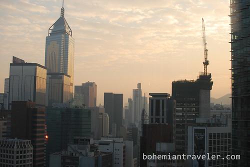morning in Hong Kong