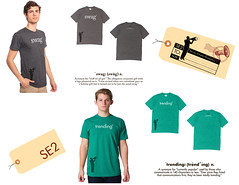 SE2 shirts and tags