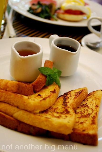 The Elysian, Bali - French toast