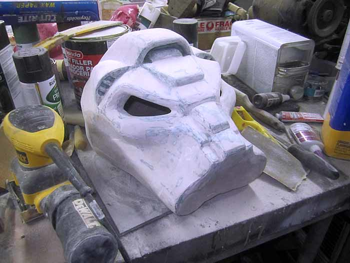 Terminator SM Helmet Fairing Progress