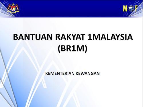Bantuan Rakyat 1Malaysia (BR1M) - RM500