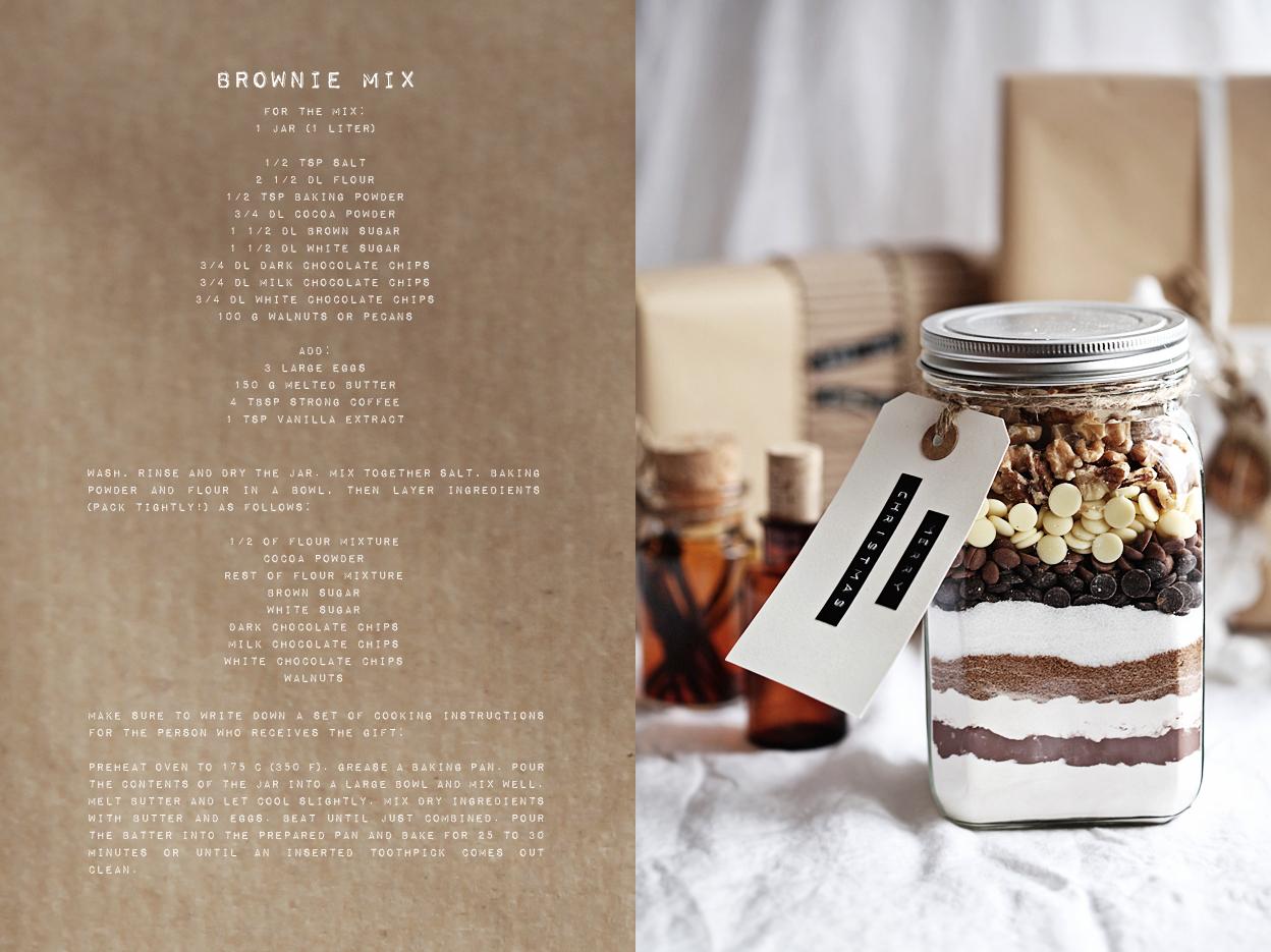 brownies med nötter recept