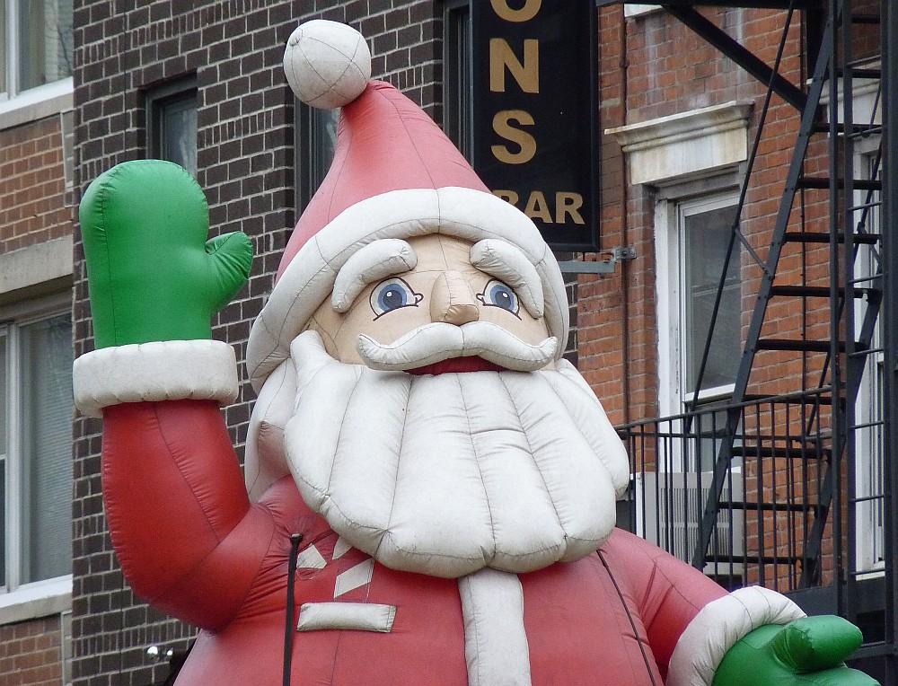 Sad Sooty Santa