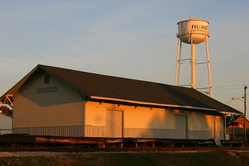 Humboldt, TN Train Depot.