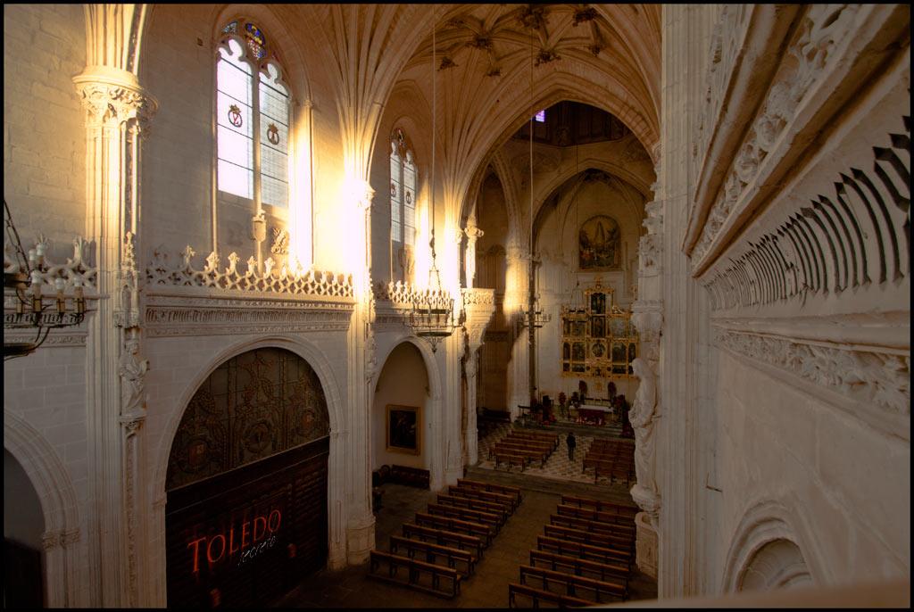 San Juan de los Reyes, interior