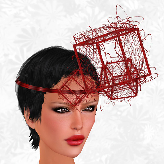 Hunt Item 5 Spaceship Scrap Headpiece Red