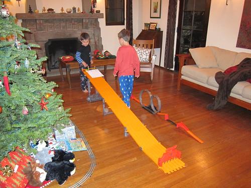 Hotwheels from Santa