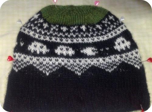 Enkelt Luemønster hat by lille-ursus