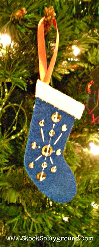 Stocking Ornament 2011 - For Kee-ku