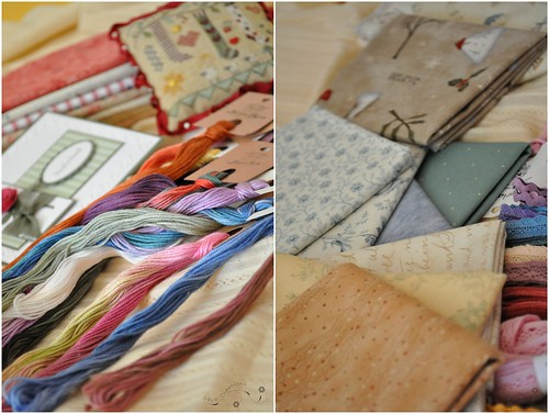 threads and fabrics - fire si materiale