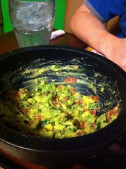 Guacamole, prepared fresh at your table