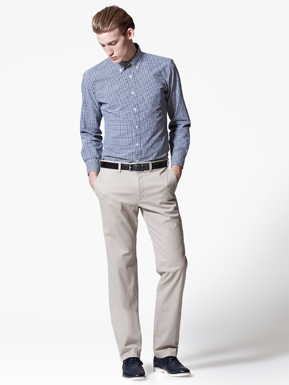 UNIQLO EARLY SPRING STYLE FOR MEN 2012_011Henrry Evans