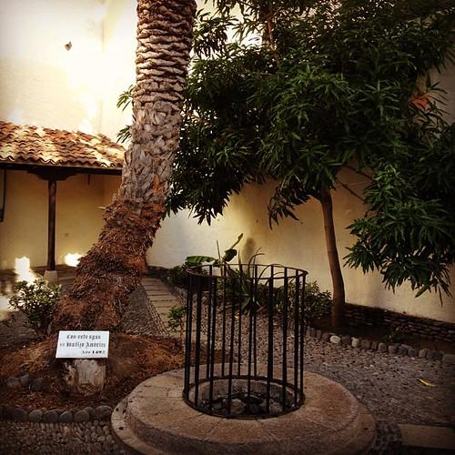 Casa de la Aguada. En este pozo realizó Colón la aguada antes de partir hacia América #lagomera #canarias #canaryislands #pozo #well