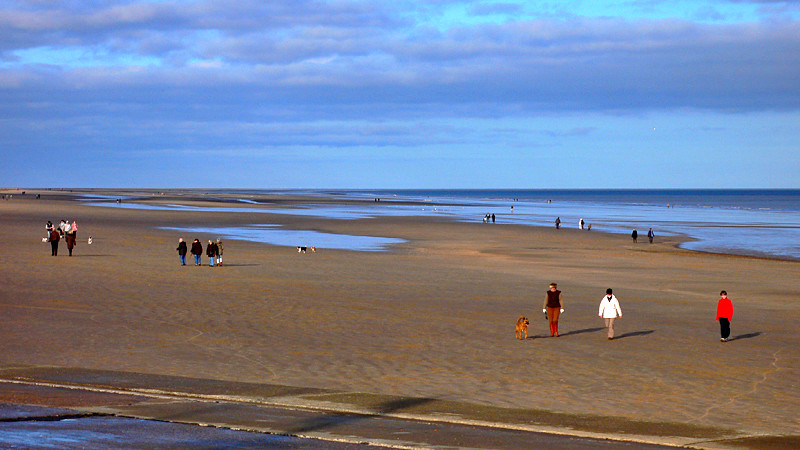 Mablethorpe on Boxing Day