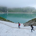 A family walk around the Weißsee Glacier world